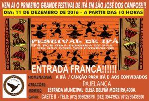 I Festival de Ifa São Jose dos Campos @ Ijo Ifa Opa Adimula | São José dos Campos | São Paulo | Brasil