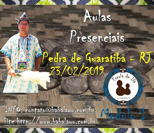 Pedra de Guaratiba - RJ - Aulas Presenciais - Módulo I
